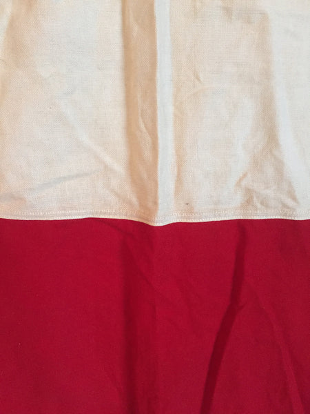 "VINTAGE NAUTICAL SIGNAL FLAG ""H FOR HOTEL"""