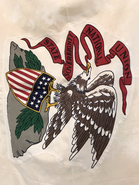 VINTAGE ILLINOIS STATE FLAG