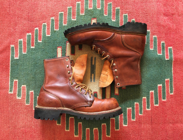 VINTAGE IRISH SETTER RED WING BOOTS