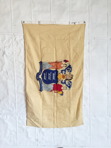 VINTAGE NEW JERSEY STATE FLAG