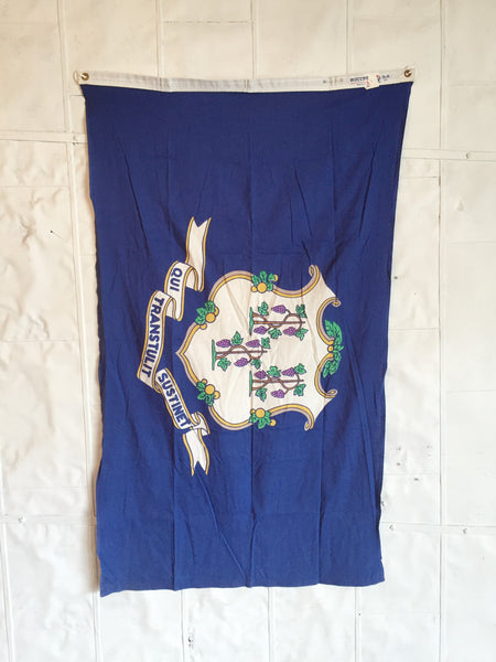 VINTAGE CONNECTICUT STATE FLAG
