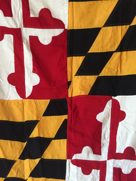 VINTAGE MARYLAND STATE FLAG