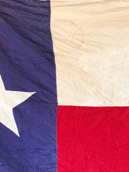 HUGE VINTAGE TEXAS FLAG