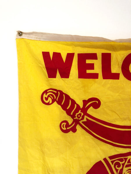 VINTAGE SHRINER FLAG