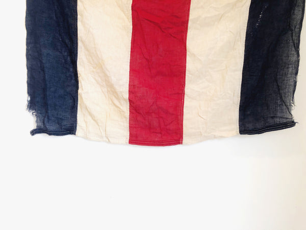 "VINTAGE NAUTICAL SIGNAL FLAG ""C"""