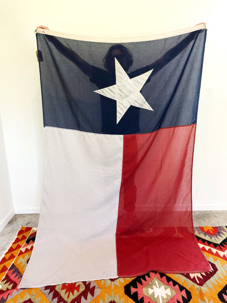 "VINTAGE TEXAS FLAG ""BIGGUN"""