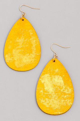 What Shimmers Is Gold - Earrings
