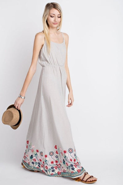 Blooming Maxi Dress - Saddles & Lace - New western and southwest inspired clothing, bags, and accessories for women