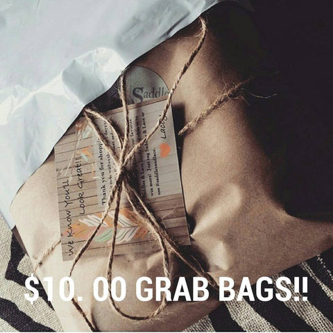 Grab Bags For Just $10.00 - Value $25-$40 - Saddles & Lace - Default Type