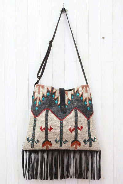 Arrow Landing Crossbody Bag - Saddles & Lace - New western and southwest inspired clothing, bags, and accessories for women