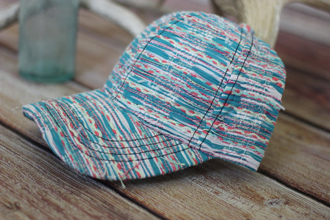 Baby Blues Woven Hat - Saddles & Lace - New western and southwest inspired clothing, bags, and accessories for women