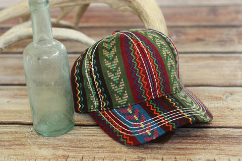 Fiesta Serape Woven Hat - Saddles & Lace - New western and southwest inspired clothing, bags, and accessories for women