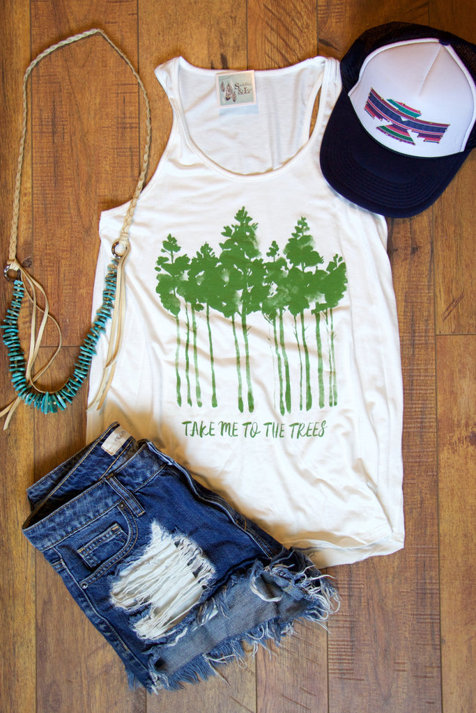 Take Me To The Trees Graphic Tee