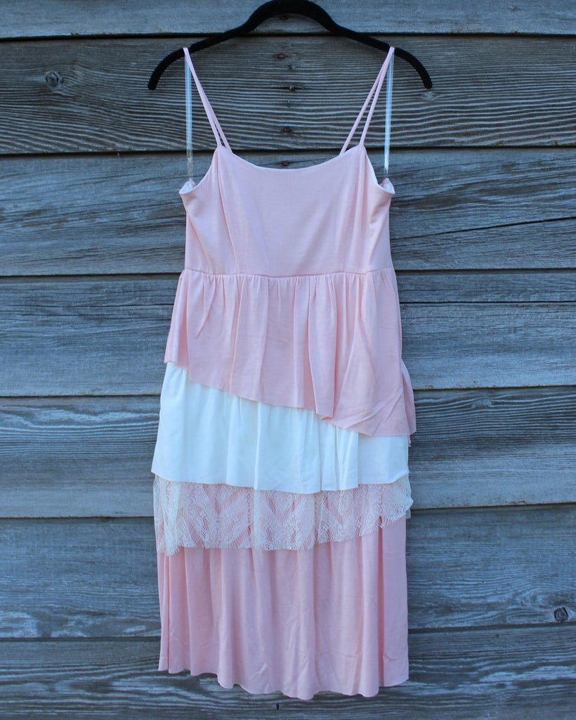 Pink & Lace Layers Cami - Saddles & Lace - New western and southwest inspired clothing, bags, and accessories for women