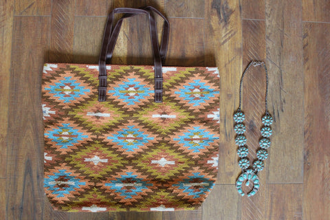 The Pueblo Over-sized Tote Bag