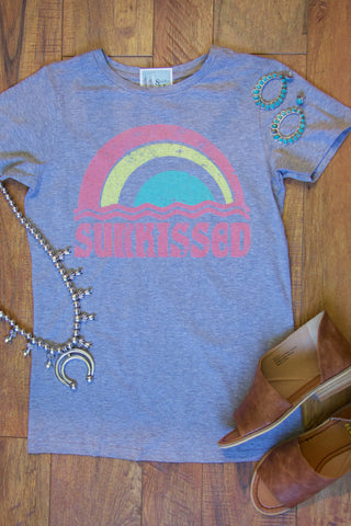 Sunkissed Vintage Tee- Mint