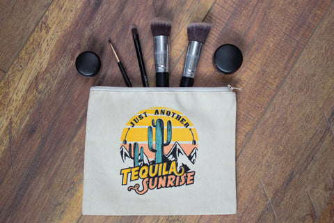 Another Tequila Sunrise - Makeup Pouch