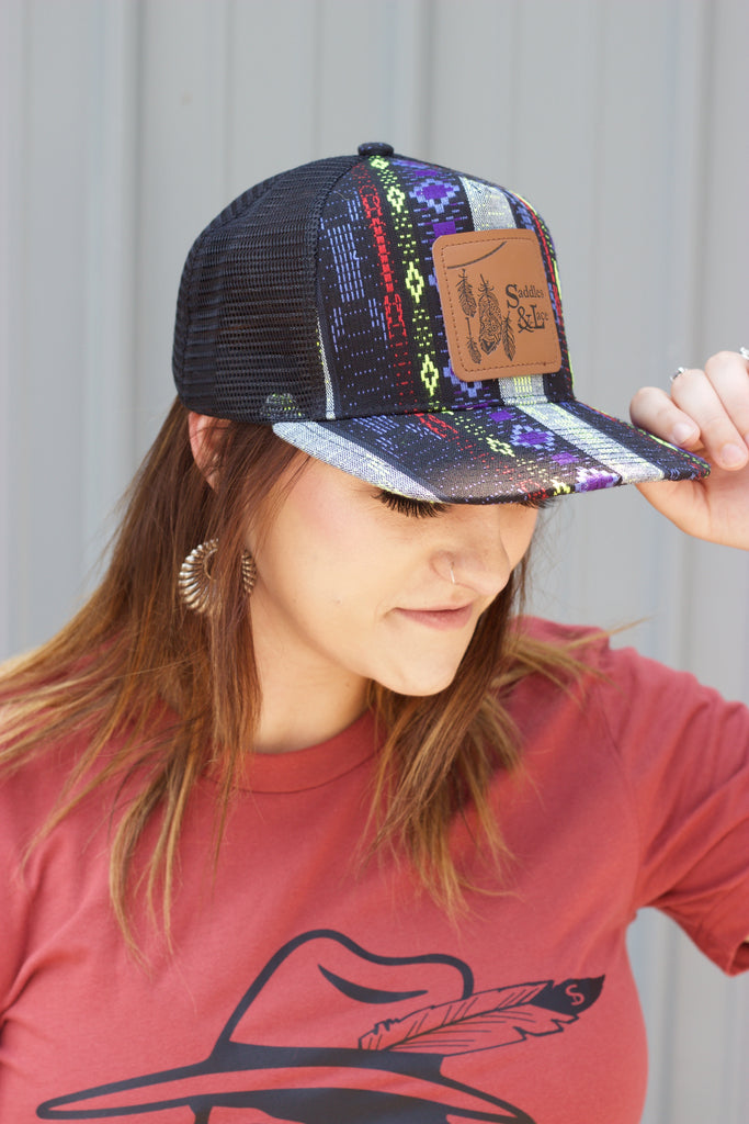 Saddles & Lace Electric Vibes - Trucker Hat