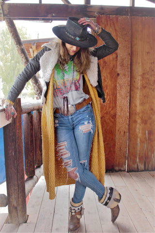 The Dolly Cropped Leather Jacket - Saddles & Lace - New western and southwest inspired clothing, bags, and accessories for women