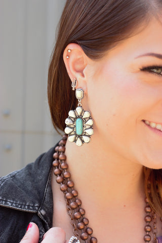 The Navajo Blossom Drop Earrings