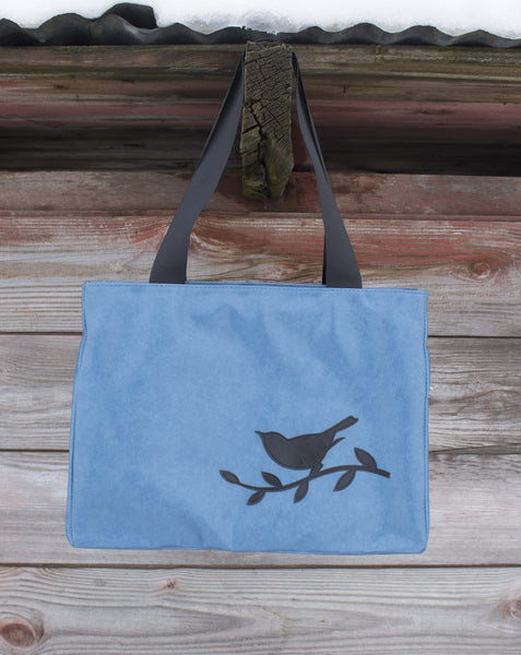Bird Blue Day Media Bag - Saddles & Lace - Purses & Bags - 1