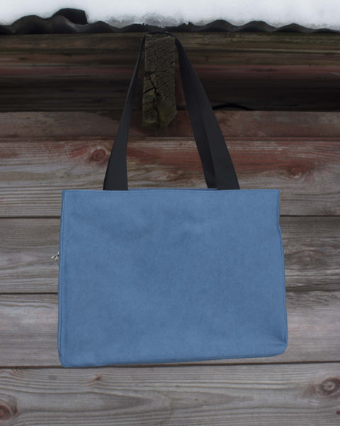 Bird Blue Day Media Bag - Saddles & Lace - Purses & Bags - 3