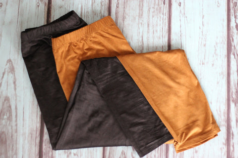 Faux Suede Leggings - Saddles & Lace - New western and southwest inspired clothing, bags, and accessories for women
