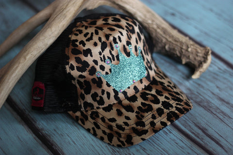 Cheetah Queen Trucker Hat - Saddles & Lace - New western and southwest inspired clothing, bags, and accessories for women