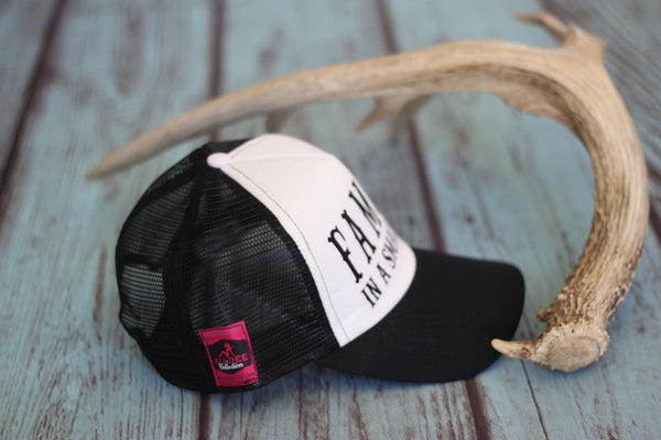 Famous In A Small Town - Trucker Hat - Saddles & Lace - Hats & Headbands - 2