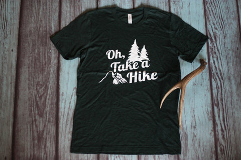 Oh Take a Hike - Casual Tee - Saddles & Lace - New western and southwest inspired clothing, bags, and accessories for women