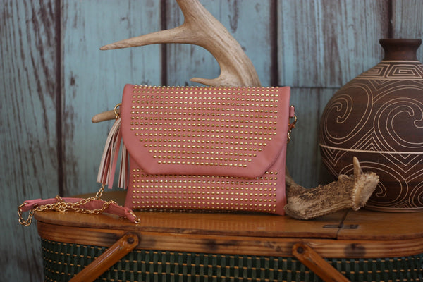 Miss Rodeo Wristlet - Available in Mint & Blush - Saddles & Lace - Purses & Bags - 3