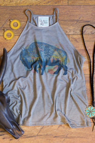 Mystic Buffalo -  Tank Top