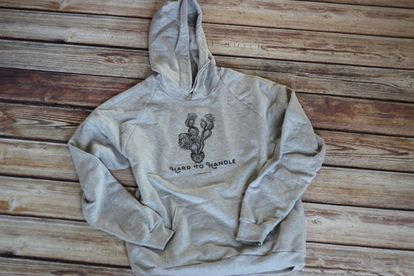 Hard To Handle Hoodie - Multiple Colors Available - Saddles & Lace - New western and southwest inspired clothing, bags, and accessories for women