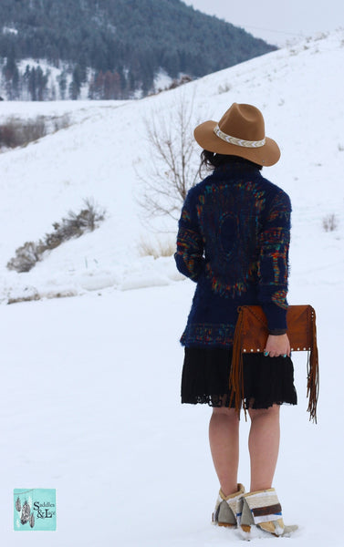 Lost In Wander - Sweater - Saddles & Lace - New western and southwest inspired clothing, bags, and accessories for women