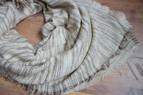 Orchard Prairie Blanket Scarf - Oatmeal - Saddles & Lace Boutique - Western and boho inspired clothing, bags, and accessories for women
