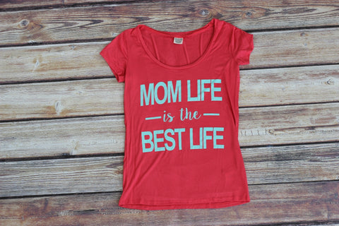 Mom Life Graphic Tee Shirt - Saddles & Lace - New western and southwest inspired clothing, bags, and accessories for women