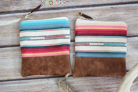 The Sunday Pouch - Sunshine Serape - Saddles & Lace - New western and southwest inspired clothing, bags, and accessories for women