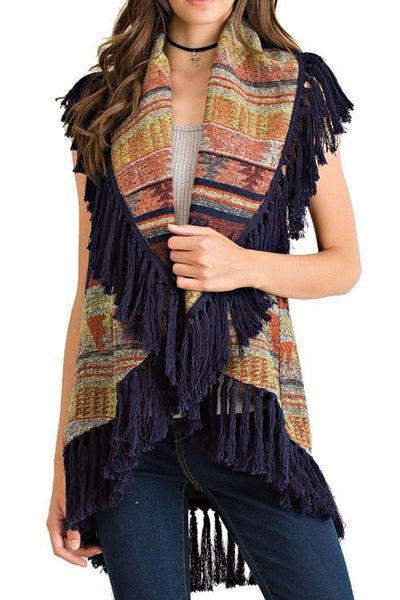 Great Wild North Vest - Saddles & Lace - New western and southwest inspired clothing, bags, and accessories for women