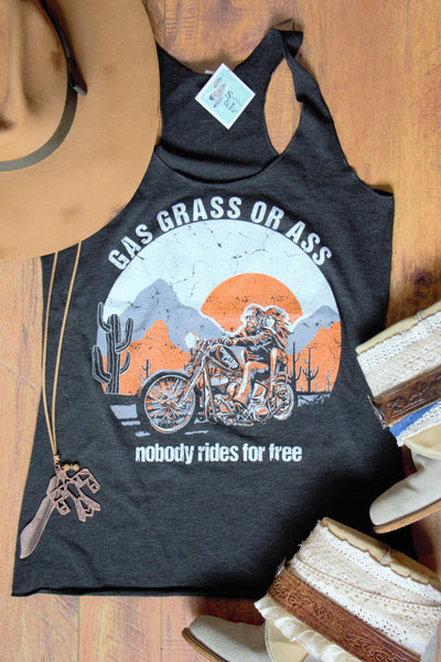 Gas, Grass, or ... - Vintage Tank Top