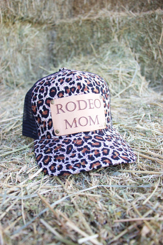 Rodeo Mom Trucker Hat- Cheetah