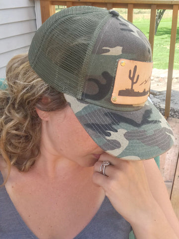 The Desert Mountains Trucker Hat