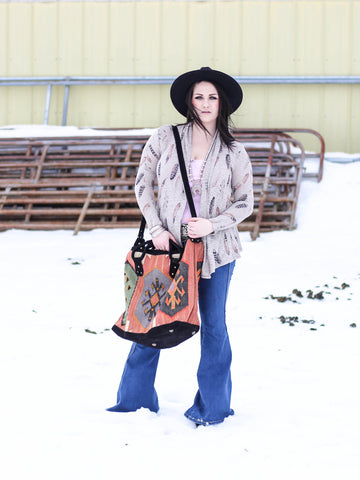 The Feathered Dreams Cardigan - Saddles & Lace - New western and southwest inspired clothing, bags, and accessories for women