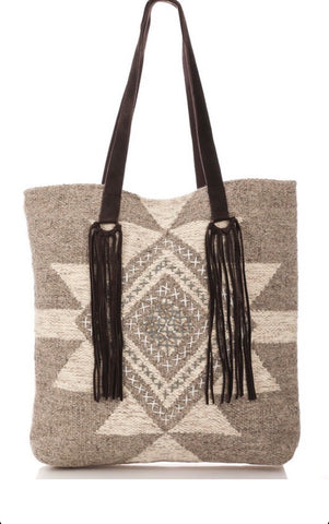 The Santa Fe Fringe - Hobo Bag