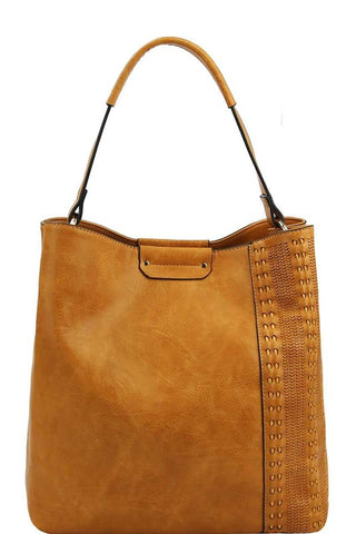 Butterscotch Large Tote Bag - Saddles & Lace Boutique - Western and boho inspired clothing, bags, and accessories for women