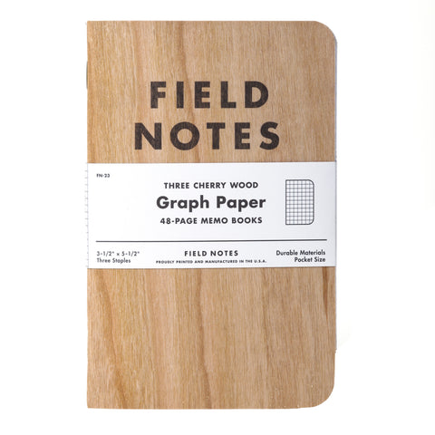 Field Notes- 3 pack graph paper memo books - Seed-Balls.com  - 1