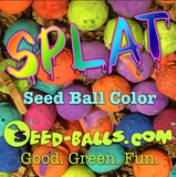 SPLAT! - Seed Ball Color Kit - Just the colors.
