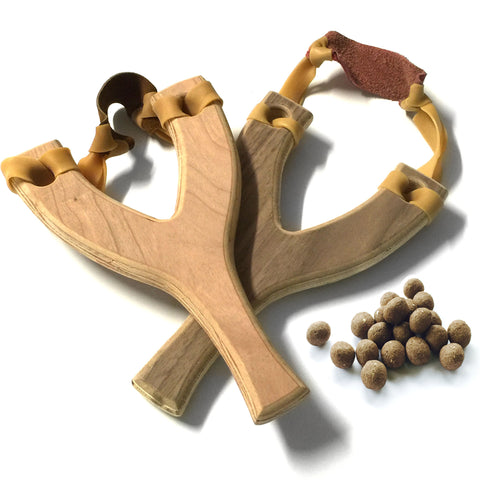 Up-Cycled Slingshot & 50 Seed Balls - Seed-Balls.com  - 1