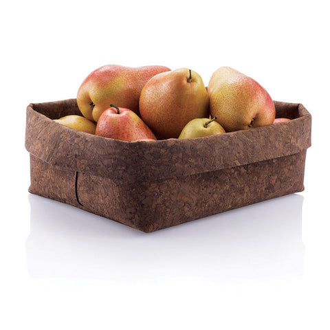 Rectangular Soft Cork Bowl - Seed-Balls.com