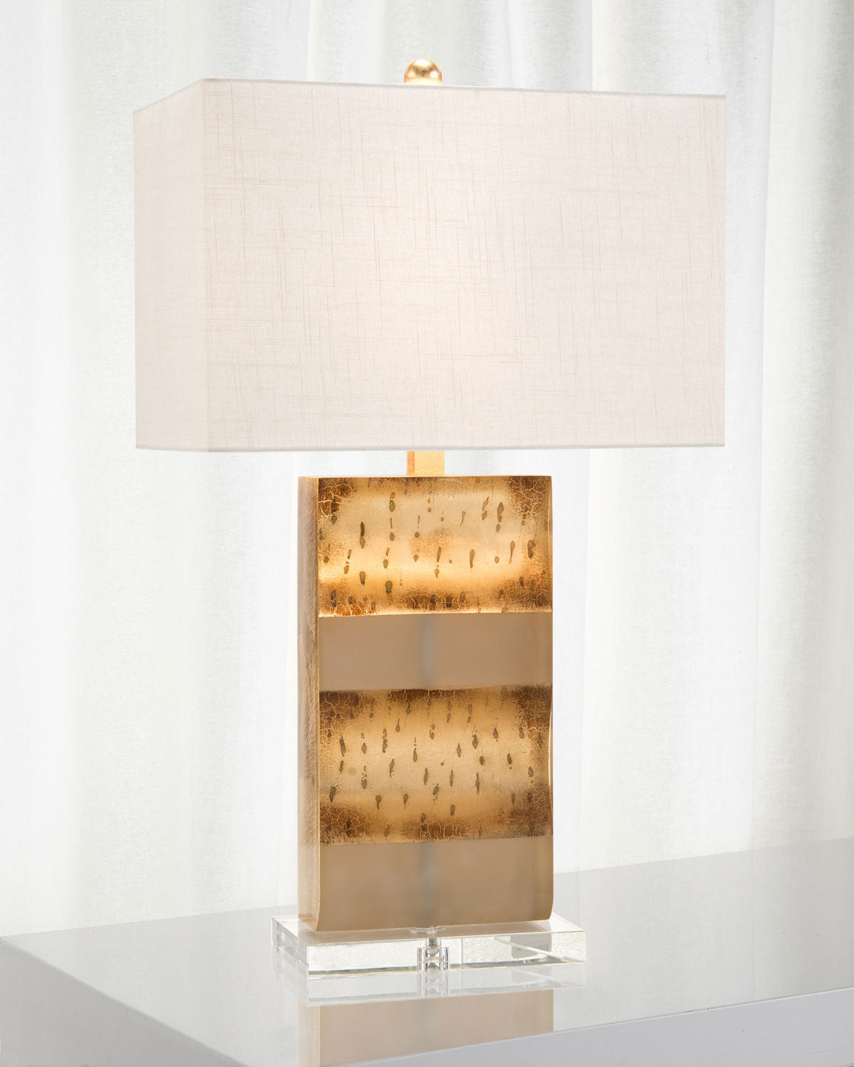 Resin In Home Fashions Table Lamp by John-Richard