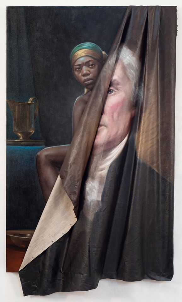 Titus Kaphar - BEHIND THE MYTH OF BENEVOLENCE